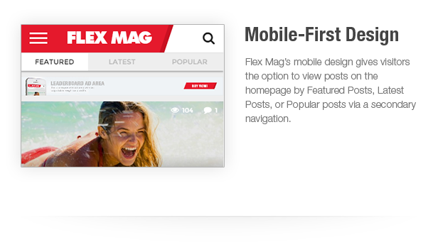 Flex Mag 1.11 - Responsive WordPress News Theme