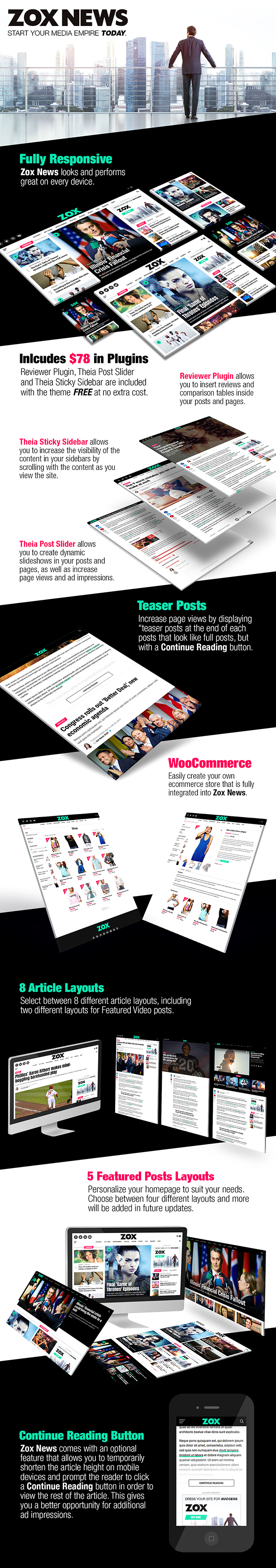 Zox News - Professional WordPress News & Magazine Theme - 2