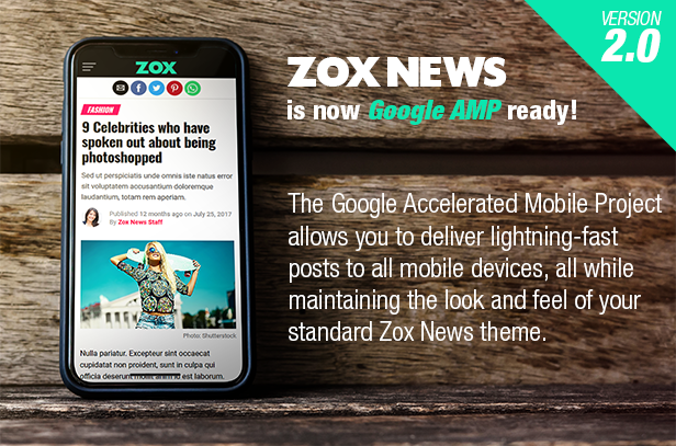 Zox News - Professional WordPress News & Magazine Theme - 1